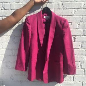 Liz Claiborne Hot Pink Blazer